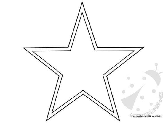 stelle di natale con la carta da attaccare ai vetri