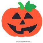 Decorazione di Halloween fai da te – Zucca