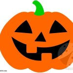 Sagoma zucca di Halloween