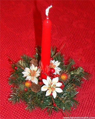 Ma i portacandele natalizi sono talmente affascinanti che non servono solamente per … Portacandela Di Natale Fai Da Te Lavoretti Creativi