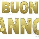 Buon Anno: festone da stampare