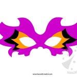 Maschere di carnevale da ritagliare 3