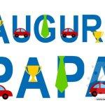 Auguri Papà – Festone da stampare