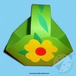 Come realizzare un cestino pasquale – Tutorial