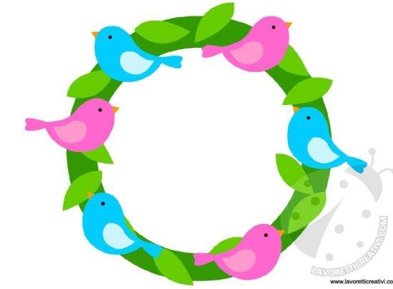 ghirlanda-uccellini