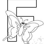 Alfabeto con disegni – Lettera F