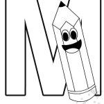 Alfabeto con disegni – Lettera M