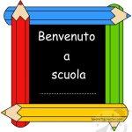 Lavoretti Accoglienza – Quadretto Benvenuto a scuola