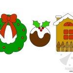 Sagome di Natale per lavoretti