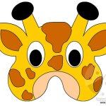 Maschere di animali – Giraffa