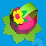 Lavoretti di Pasqua – Cestino di Pasqua