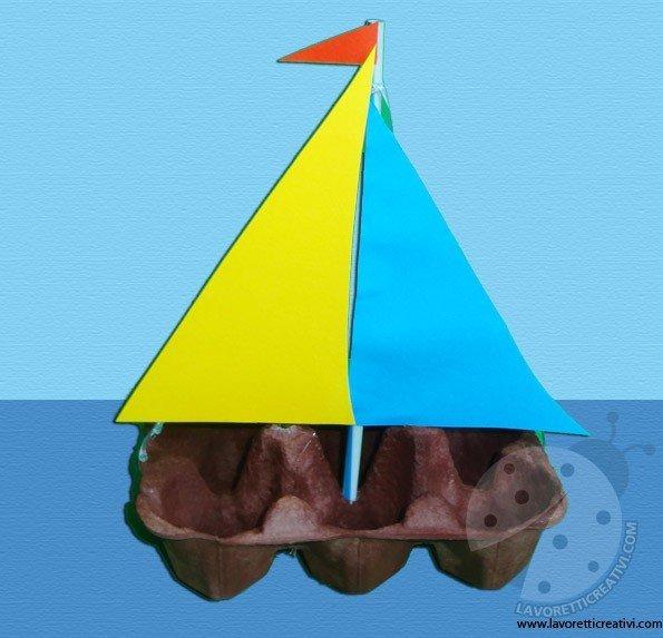 Lavoretti estate barca a vela for Lavoretti accoglienza infanzia