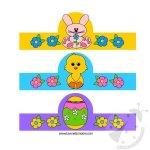 Lavoretti Pasqua – Porta uova da stampare