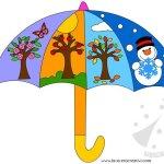 Lavoretti per bambini – Le quattro stagioni