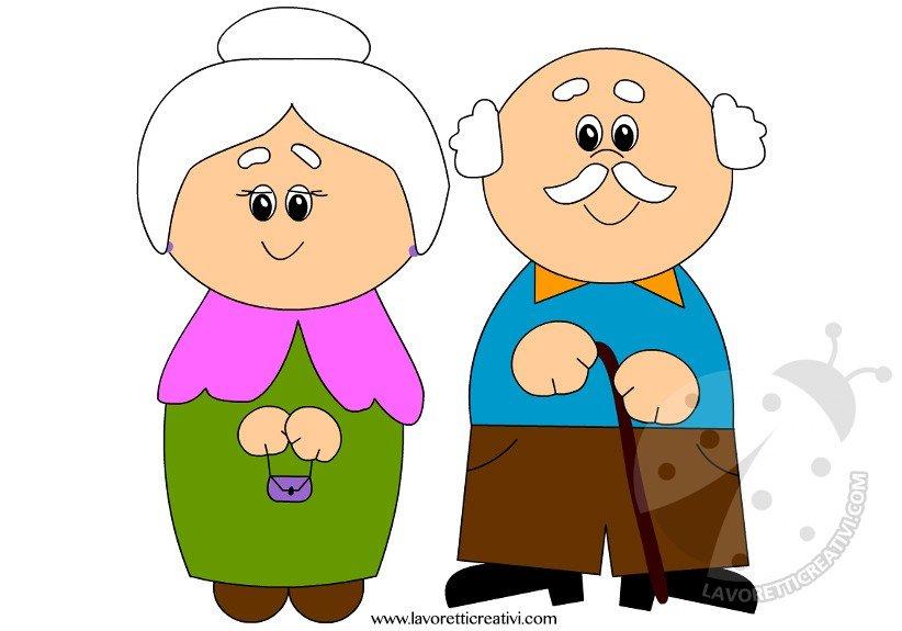 Risultati immagini per immagine nonni