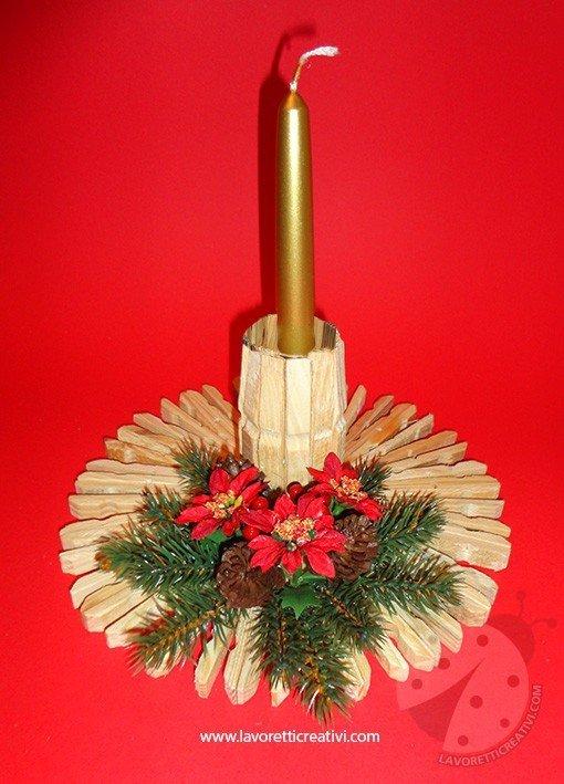 In particolare le candele, i ceri e i lumini riescono a diffondere una luce calda e mai faticosa per gli occhi in modo da donare relax e quiete agli abitanti della casa. Lavoretto Per Natale Con Le Mollette Lavoretti Creativi