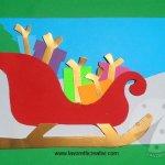 Biglietti di Natale – Slitta con regali