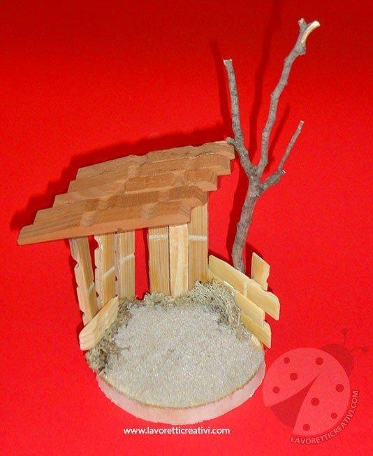 Presepe Con Bastoncini Di Legno : Presepe con mollette di legno lavoretti creativi