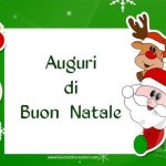 Cartoline di Natale per WhatsApp e Facebook
