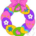Addobbi Pasqua – Ghirlanda di Pasqua per bambini