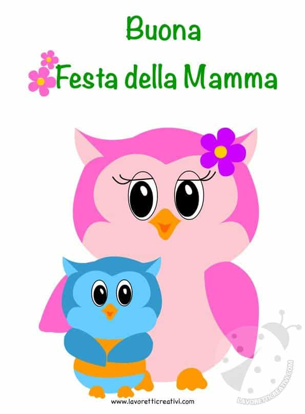 Cartolina d'Auguri per Festa della Mamma