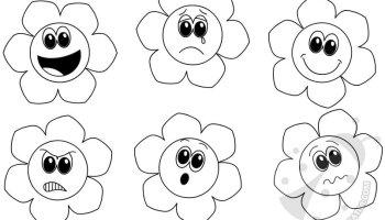 Faccine Delle Emozioni Da Colorare Lavoretti Creativi