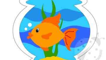 Pesce Sagome Da Ritagliare Lavoretti Creativi