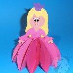 Come fare una Principessa 3D di carta