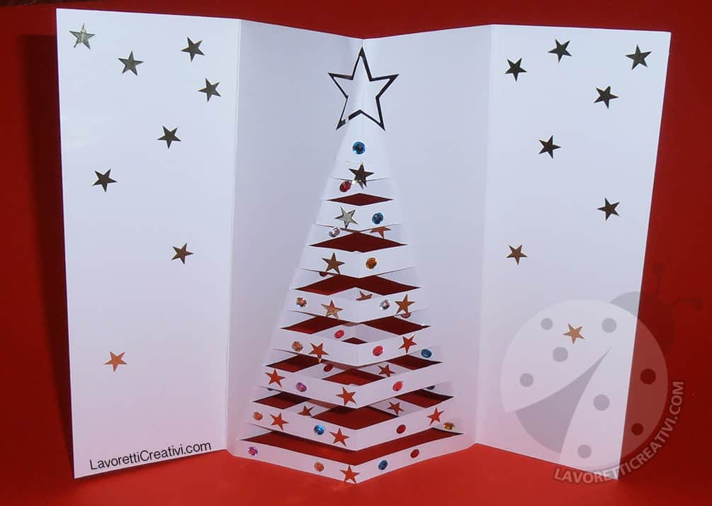 Auguri Di Natale Biglietto Di Natale Pop Up