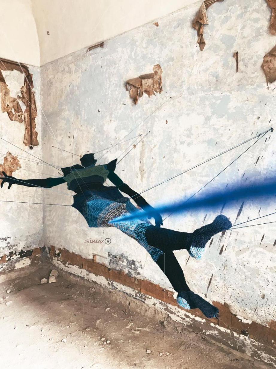 il salto nel vuoto, pittrice, accademia di belle arti, Simona Balzamo