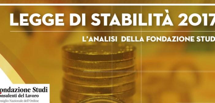 Legge di Stabilità 2017