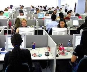 Call center, paghe da dipendenti