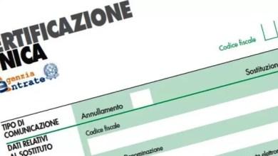 Photo of Certificazione Unica: cosa cambia nel 2020?