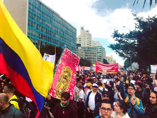 ¡EL PARO NO PARA! – REPORTE SOBRE EL PARO CÍVICO EN COLOMBIA