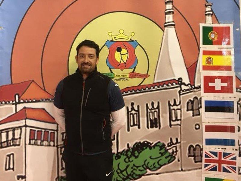 El arquero Sergio Martínez del Arcoguadaíra