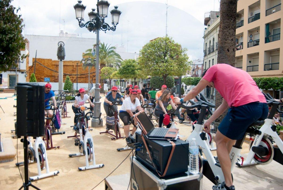 Deporte en la calle Alcalá