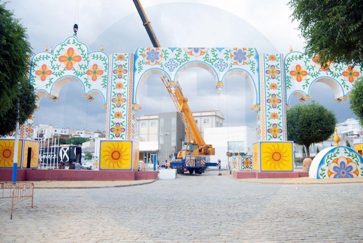 Montaje de la Feria 2018