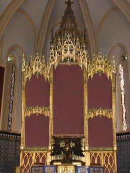 Recreación virtual del futuro altar de la Virgen / LVA