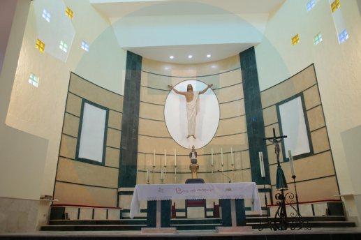 Nuevo altar de la Iglesia de San Agustín / F. Amador