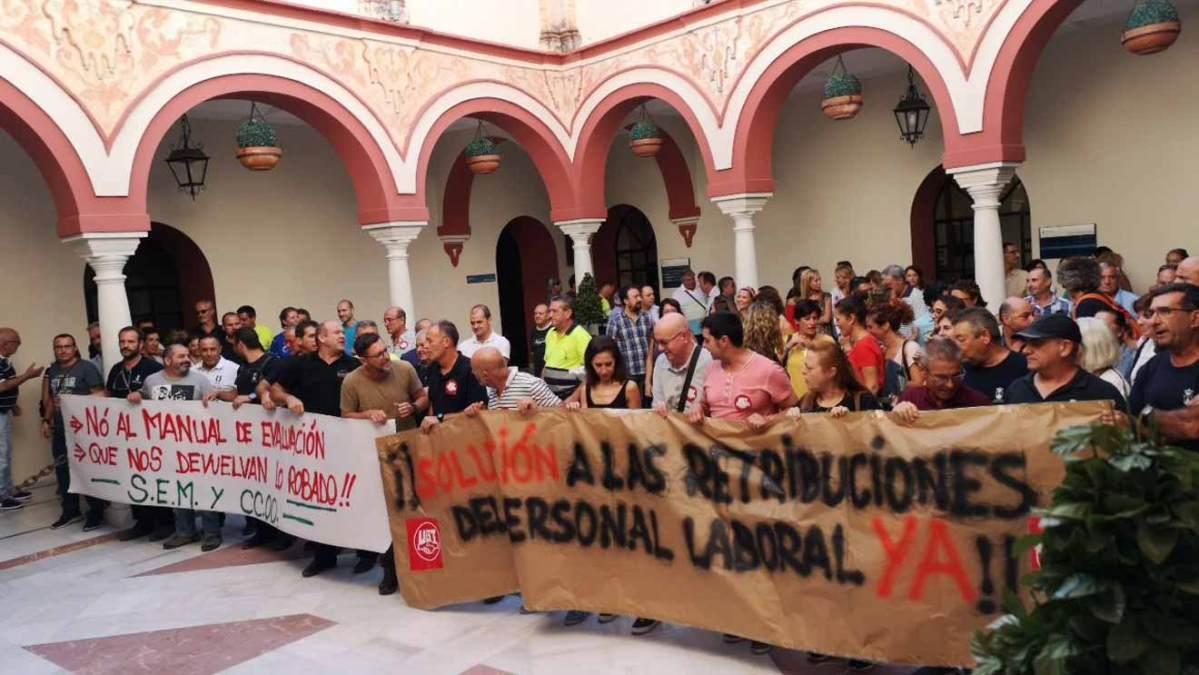 Protesta sindicatos municipales /LVA
