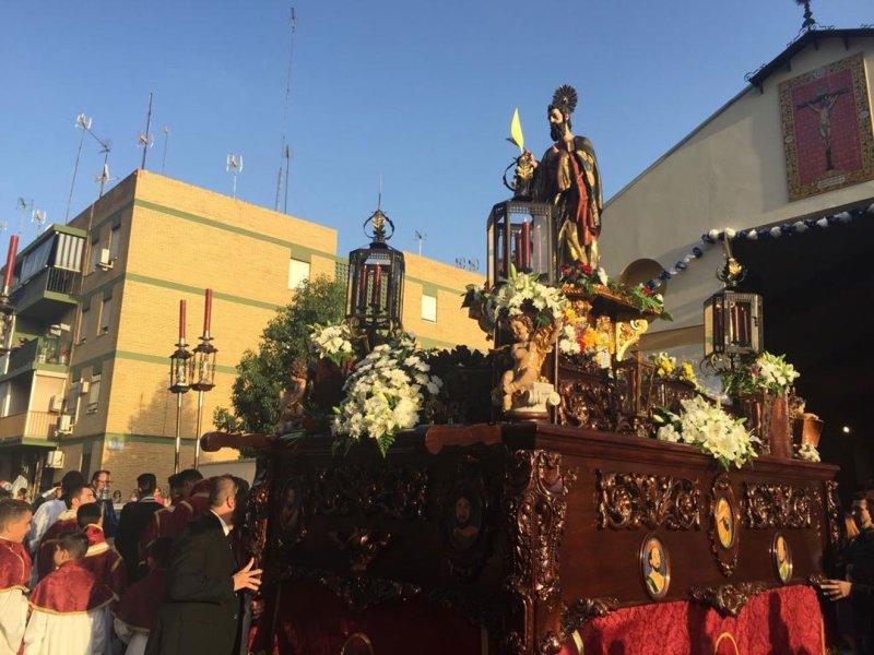 San Mateo por las calles de Alcalá /@Aytoguadaira