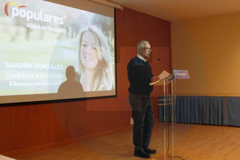 Javier Arenas durante su intervención/Rocío Gómez