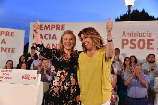 Ana Isabel Jiménez y Susana Díaz / PSOE