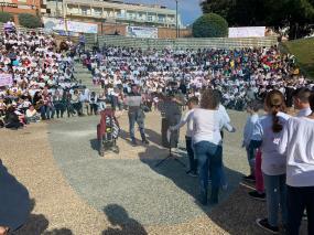 Marcha escolar 25N / LVA