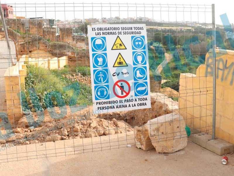 El gobierno retira restos arqueológicos del Castillo por riesgo de caída