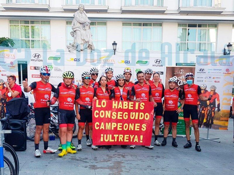 Los participantes de Ultreya a su llegada a Madrid/Elena González/LV