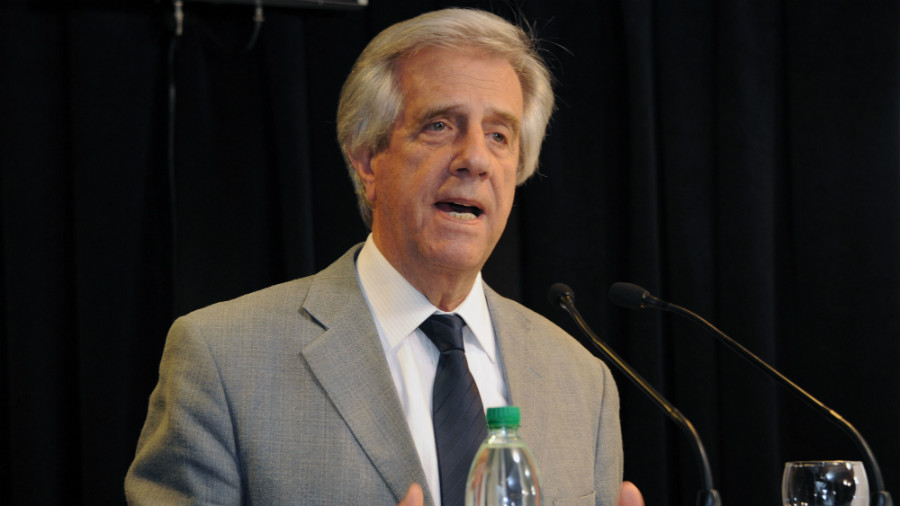 Tabaré Vázquez, presidente de Uruguay enfrenta cáncer