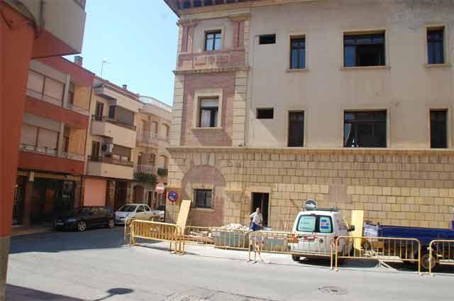 La remodelación del edificio institucional del Ayuntamiento, en marcha
