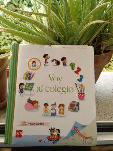 Libro voy al colegio