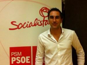 Juan Diego Ortiz, ganador de las Primarias del PSOE. Fotografía: PSOE de Pinto